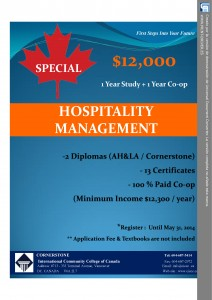 Hospitality Management Program_April and May